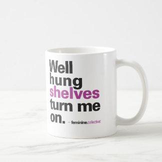 Well Hung Shelves Mug