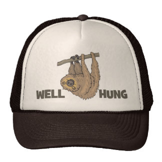 Well Hung Sloth Trucker Hat