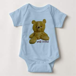 Well Loved - Teddy Bear Infant / Baby Baby Bodysuit