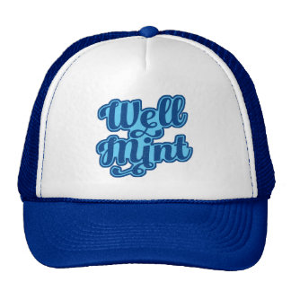 Well Mint Manchester Slang Dialect Trucker Hat