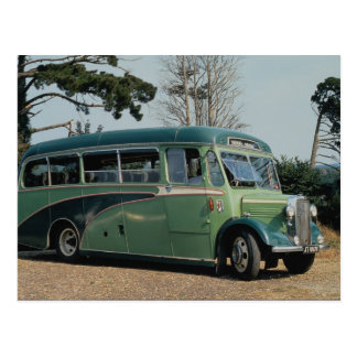 Well-preserved 1937 Bedford used daily, the Isle o Postcard
