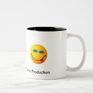 We'll Test In Production Two-Tone Coffee Mug