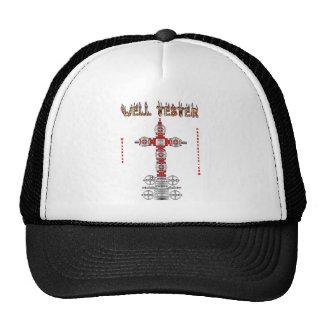 Well Tester Oil Field Cap Trucker Hat
