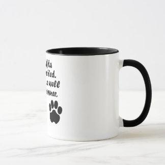 Well Trained Akita Owner Mug