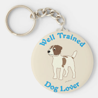 Well Trained (Jack Russell Terrier) Keychain