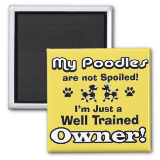 Well Trained Owner! Magnet