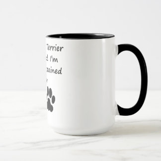 Well Trained Toy Fox Terrier Owner Mug