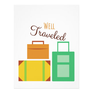 Well Traveled Personalized Letterhead