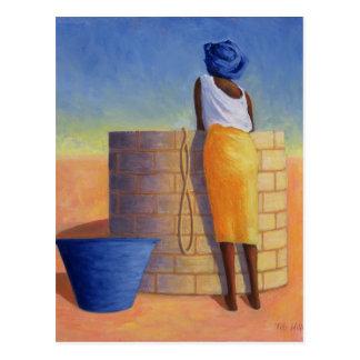 Well Woman 1999 Postcard