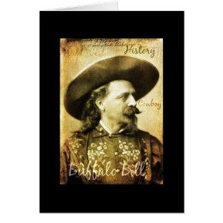 Well Worn Buffalo Bill Cowboy Card