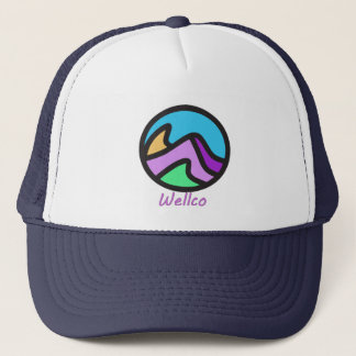 Wellco colored logo hat