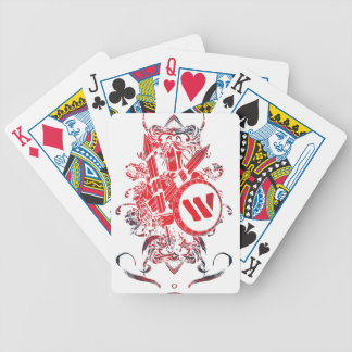 Wellcoda Apparel Mega Battle Evil Fantasy Poker Deck