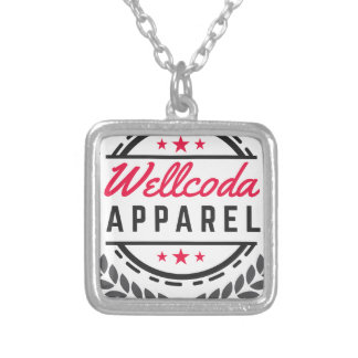 Wellcoda Apparel Three Star Wreath Look Silver Plated Necklace