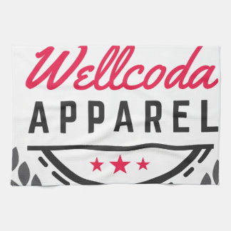 Wellcoda Apparel Vintage Style Edinburgh Kitchen Towel