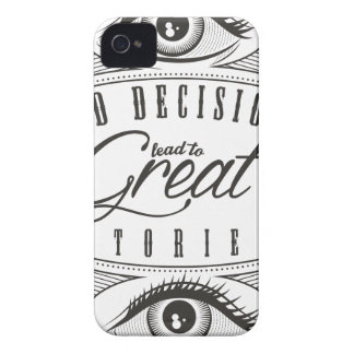 Wellcoda Bad Decision Lead To Good Story Case-Mate iPhone 4 Case