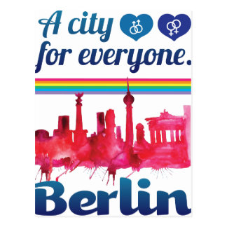 Wellcoda Berlin For Everyone Loving City Postcard