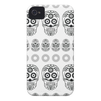 Wellcoda Crazy Epic Skull Print Small Face iPhone 4 Covers