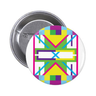 Wellcoda Crazy Fresh Summer USA Rave Beat 2 Inch Round Button