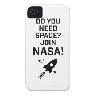 Wellcoda Do You Need Space? Join Nasa Fun Case-Mate iPhone 4 Cases