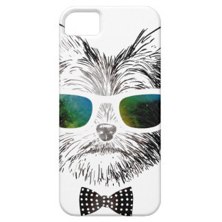 Wellcoda Funny Swag Dog Puppy Cool Pet Case For The iPhone 5
