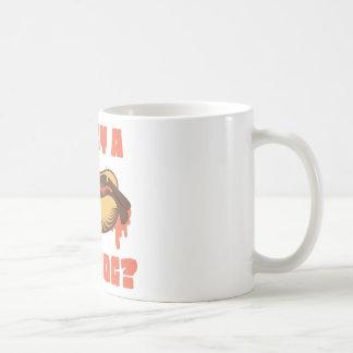 Wellcoda Hot Dog Junk Food Animal Dinner Coffee Mug