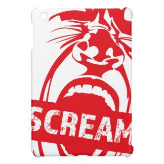 Wellcoda Human Face Scream Shout Yell Cry Case For The iPad Mini