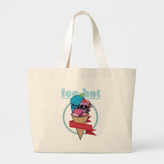 Wellcoda Ice Hot Summertime Cherry on Top Large Tote Bag