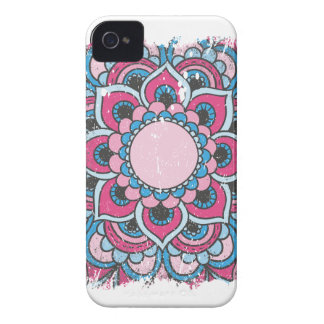 Wellcoda Indian Flower Bloom Pattern Asia iPhone 4 Case