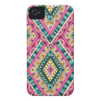 Wellcoda Indian Style Clothing Crazy Life iPhone 4 Case-Mate Cases