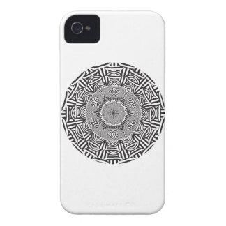 Wellcoda Indian Style Illusion Optical Case-Mate iPhone 4 Case