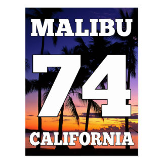 Wellcoda Malibu California USA Beach Life Postcard