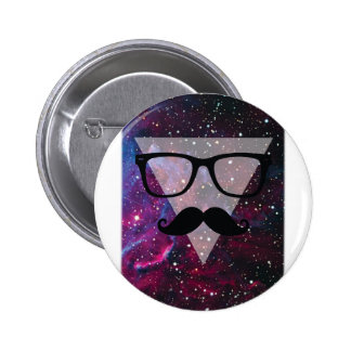 Wellcoda Master Disguise Space Funny Face 2 Inch Round Button