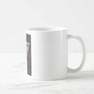 Wellcoda Master Disguise Space Funny Face Classic White Coffee Mug
