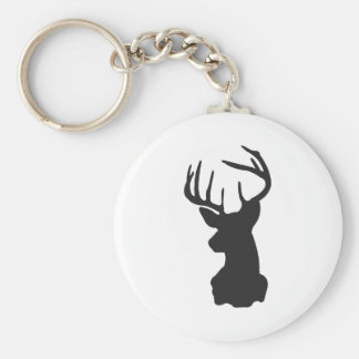 Wellcoda National Deer Hunt Stag Party Basic Round Button Keychain