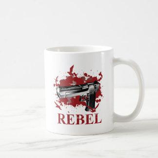 Wellcoda Pistol Blood Bullet Rabel Bird Coffee Mug
