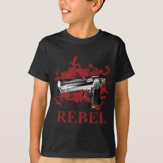 Wellcoda Pistol Blood Bullet Rabel Bird T-Shirt