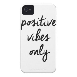 Wellcoda Positive Vibes Only UK Positivity iPhone 4 Case-Mate Cases