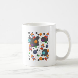 Wellcoda Rocket Moon Landing Space Wars Coffee Mug