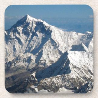 Wellcoda Rocky Mountain Range Snow Rock Beverage Coaster