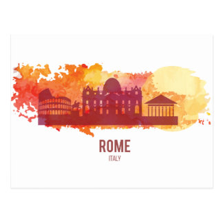 Wellcoda Rome City Capital Italy History Postcard