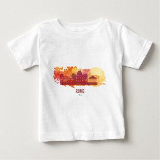 Wellcoda Rome Italy Capital City Sight Baby T-Shirt