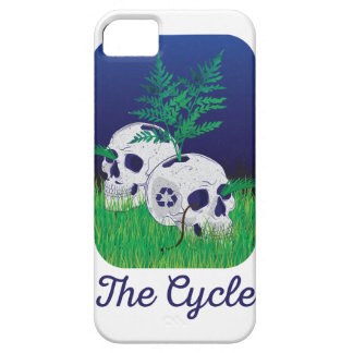 Wellcoda Skeleton Skull Earth Recycle Pot iPhone 5 Case