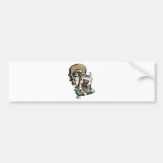 Wellcoda Skull Head Gambling Play Death Bumper Sticker