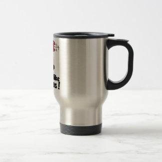Wellcoda Smells Like Christmas Santa Burn Travel Mug