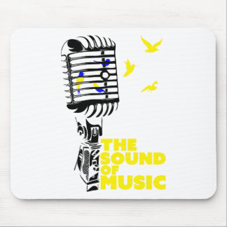 Wellcoda Sound Of Music Sing Microphone Mouse Pad