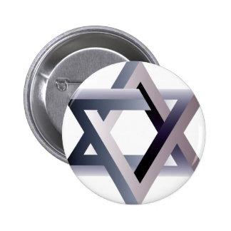 Wellcoda Star Of David Symbol Judaism Sign 2 Inch Round Button