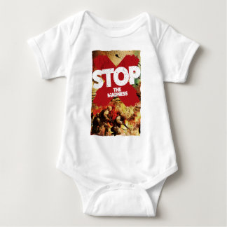 Wellcoda Stop the Madness War Troops Life Shirts