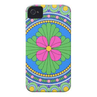 Wellcoda Style Indian Pattern Ornament Fun iPhone 4 Case-Mate Case