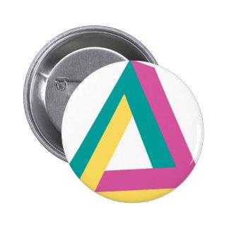 Wellcoda Triangle Drive Shape Summer Fun 2 Inch Round Button