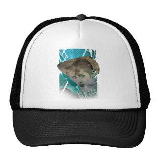 Wellcoda Urban Girl Portrait Surreal View Trucker Hat